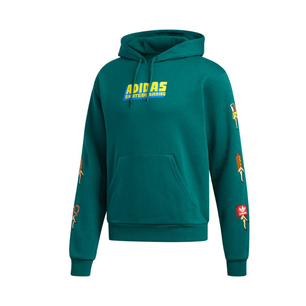 Adidas-Foof-FLC-Hood-Green