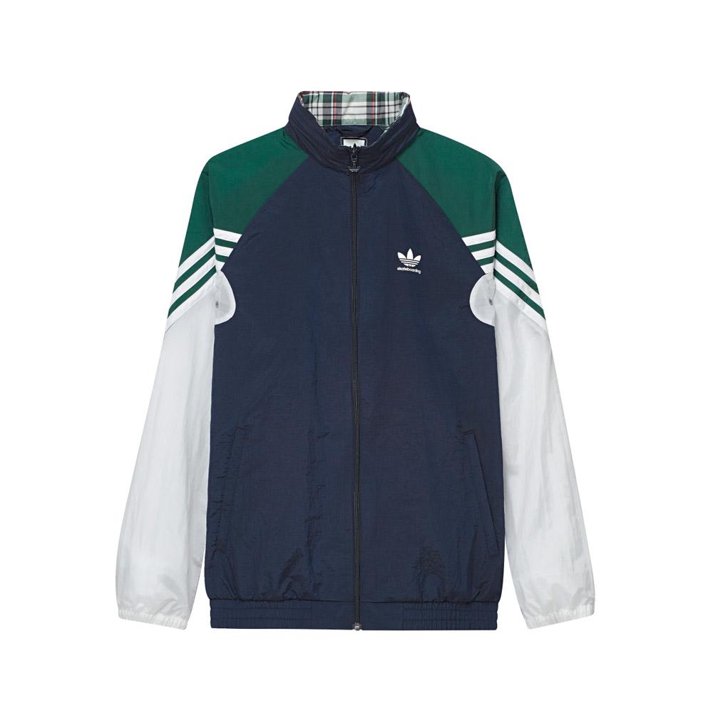 adidas light blue and white jacket