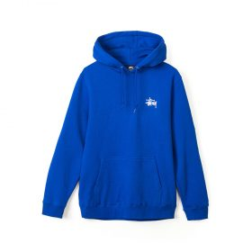 Basic stussy hood Dark Blue
