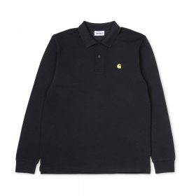 Carhartt-l-s-chase-pique-polo-black-gold-731