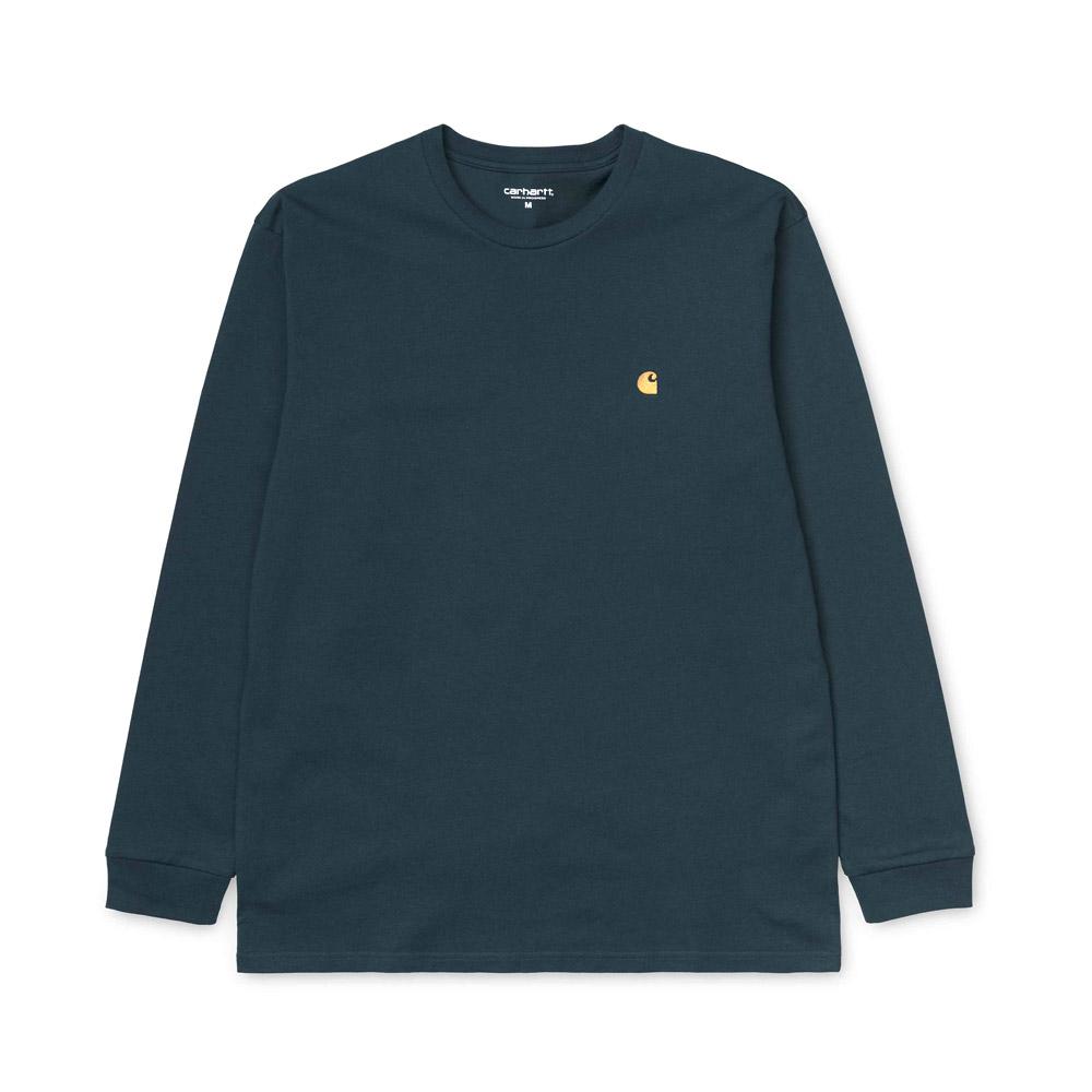 Carhartt-l-s-chase-t-shirt-duck-blue-gold-1408