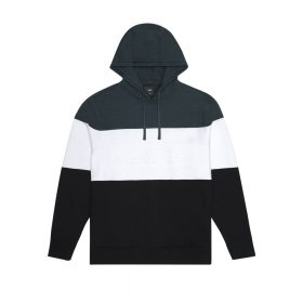 Now in stock Huf Division Hoodie Pullover sweater by HUF called Huf Division Hoodie. The Division Pullover Hoodie is made from heavyweight cotton French terry featuring a bold colour-blocked construction as a nod to 90s gear. Equipped with a spacious double layer hood, the pullover is complete with an embossed HUF logo in a retro font at centre chest. • Color-blocked pullover hoodie • 100% cotton 340gsm heavyweight French terry • Embossed logo at center chest • Double layer hood w/ adjustable flat folded drawstring • 1x1 ribbing at waist, cuffs, and side gusset