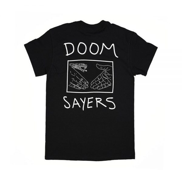 Doom-Sayers-Snake-Shake-Tee-Black