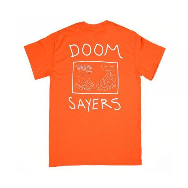 Doom-Sayers-Snake-Shake-Tee-Orange
