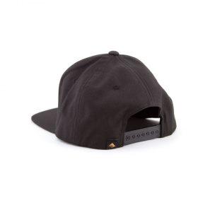 emerica logo snapback black