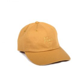 Fier-Dad-Cap-Light-Brown-Gold