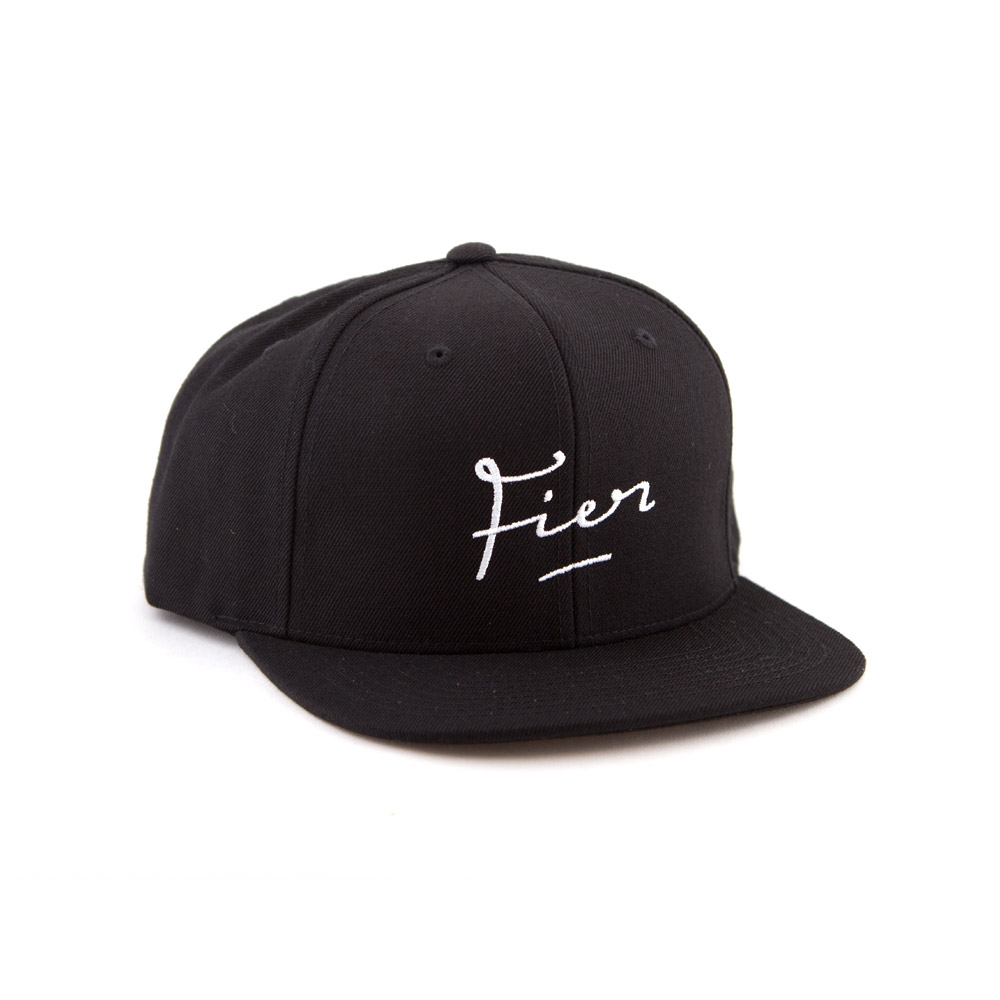 fier snapback black