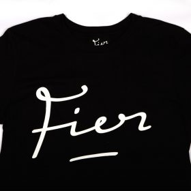 Fier-Tee-Black-White
