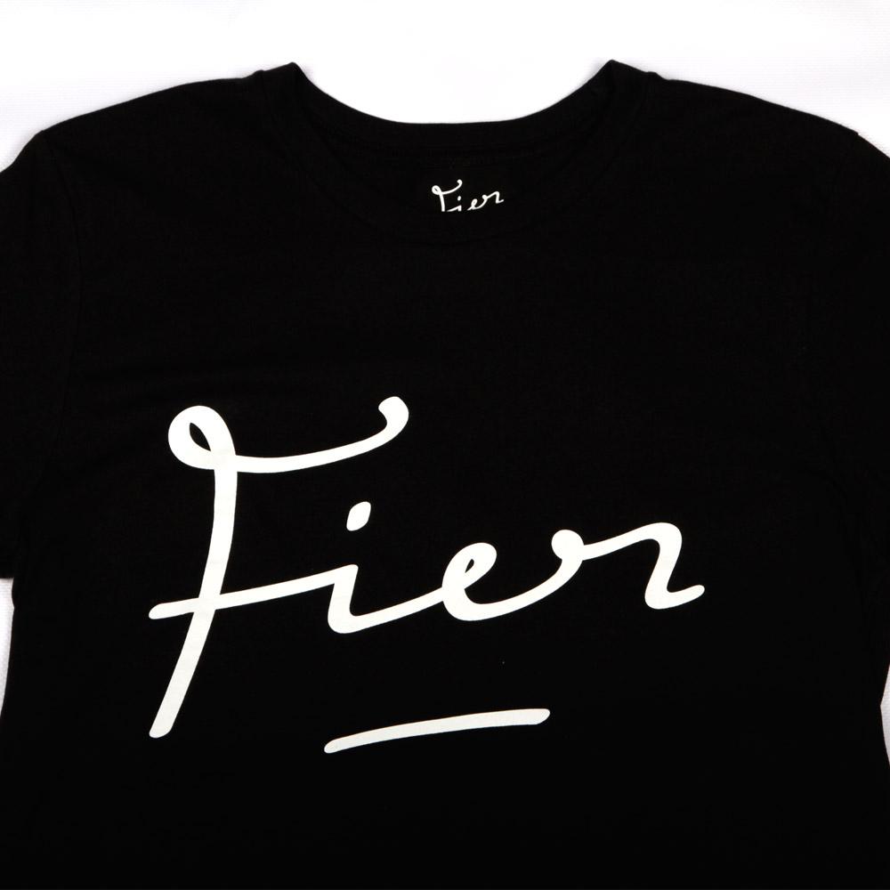 Fier-Tee-Black-White