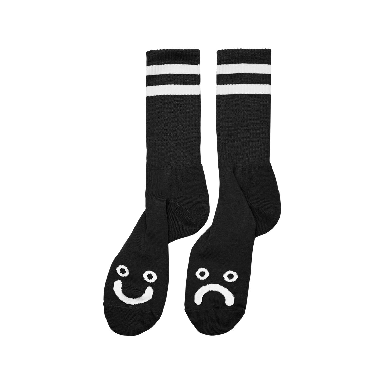 HAPPY-SAD-SOCKS-BLACK