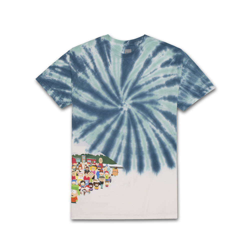 HUF-X-SOUTH-PARK-OPENING-TEE-BLUE
