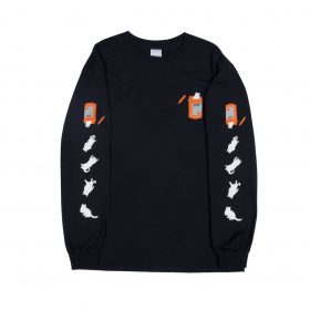 Rip N Dip Nermal Pills LS Tee Black