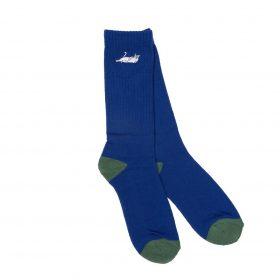 Rip N Dip Castanza Socks Navy Hunter green