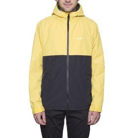 Huf-Standard Shell Jacket Yellow Black