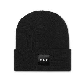 Huf-BOX-LOGO-BEANIE_BLACK