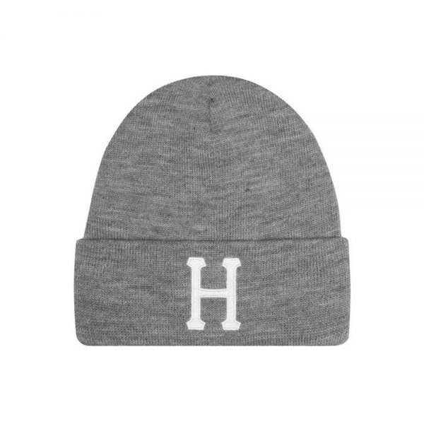 Huf-CLASSIC-H-BEANIE_GREY-HEATHER