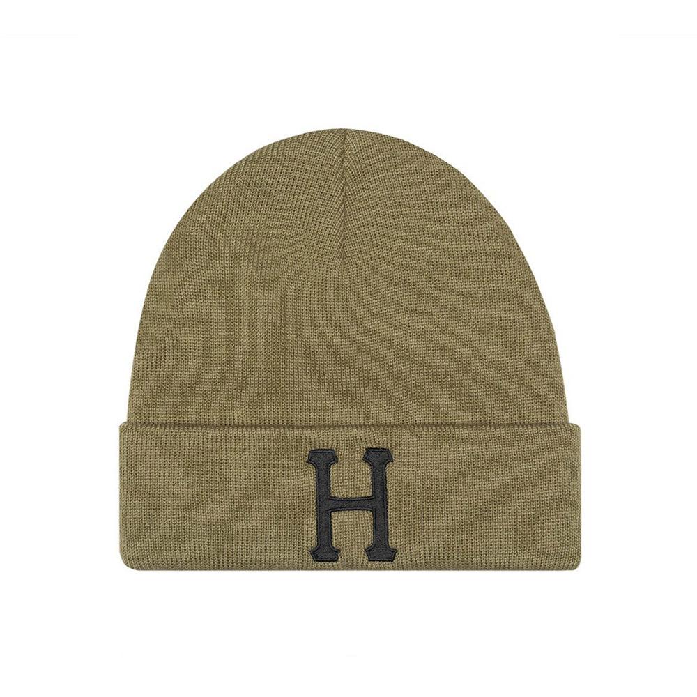Huf-CLASSIC-H-BEANIE_MARTINI-OLIVE