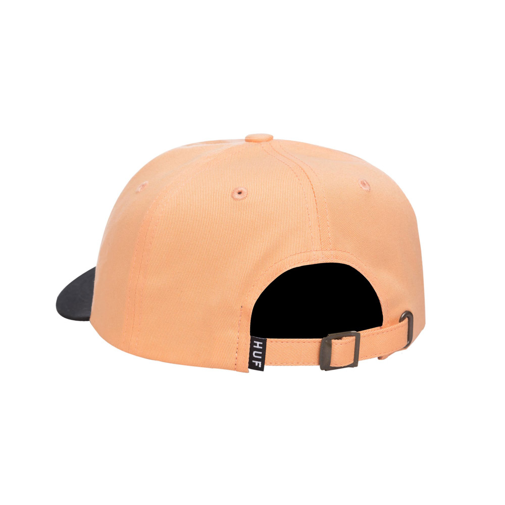 Huf-CLASSIC-H-CURVED-VISOR-PEACH1