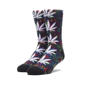 Huf-GOOD-TRIP-PLANTLIFE-SOCK_BLACK