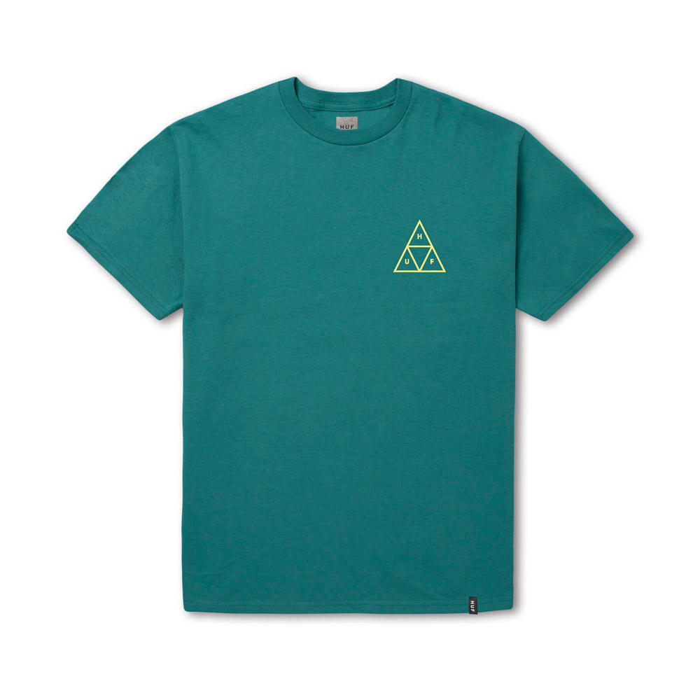 Huf-HIGH-TIDE-TRIANGLE-S-S-TEE_TROPICAL-GREEN