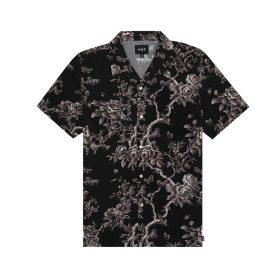Huf-HIGHLINE-S-S-WOVEN-SHIRT_BLACK