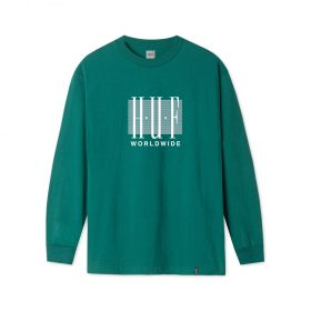 Huf-LINEAR-L-S-TEE_DEEP-JUNGLE