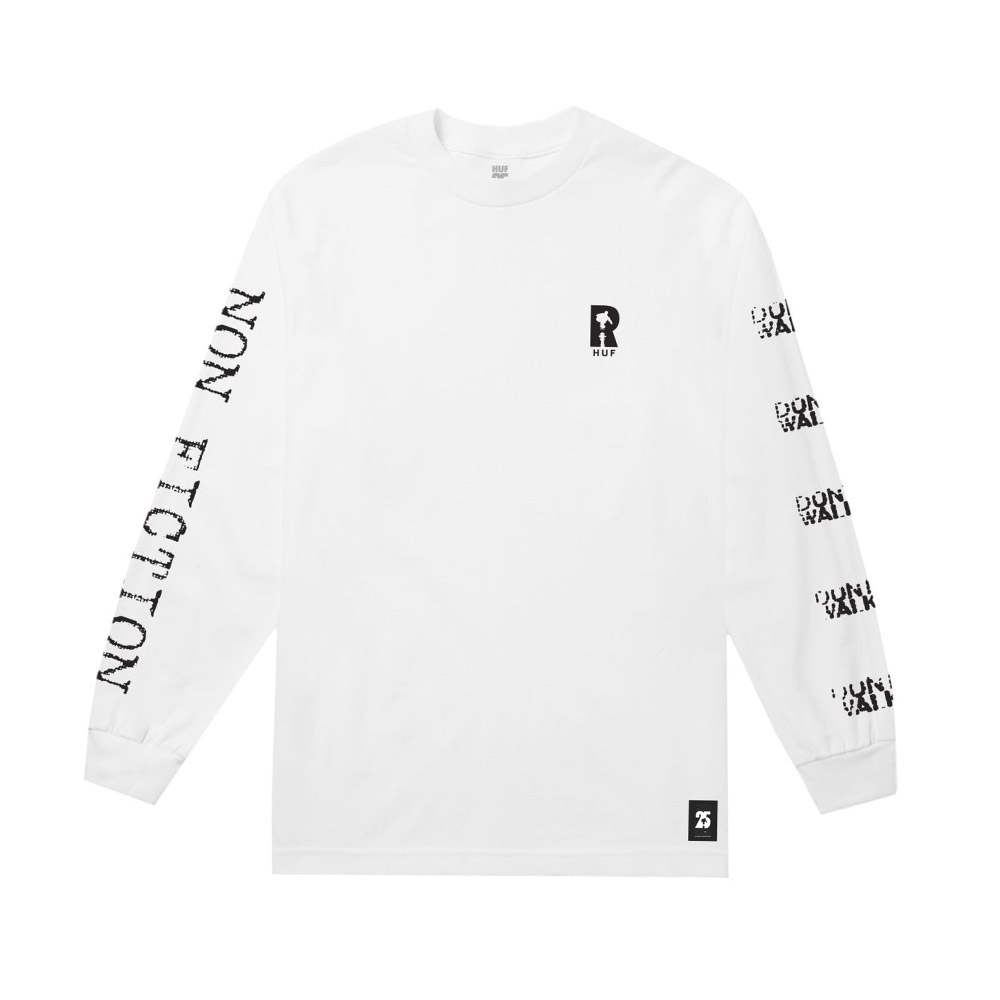 Huf-NON-FICTION-L-S-TEE_WHITE