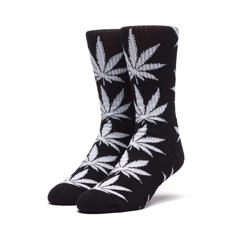 Huf-Plantlife-Socks-Black-White