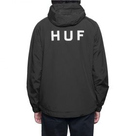 Huf-Shell-Jacket-Black1