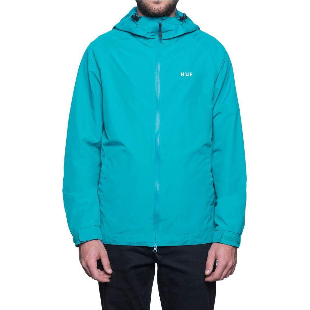 Huf-Shell-Jacket-Tropical-Green