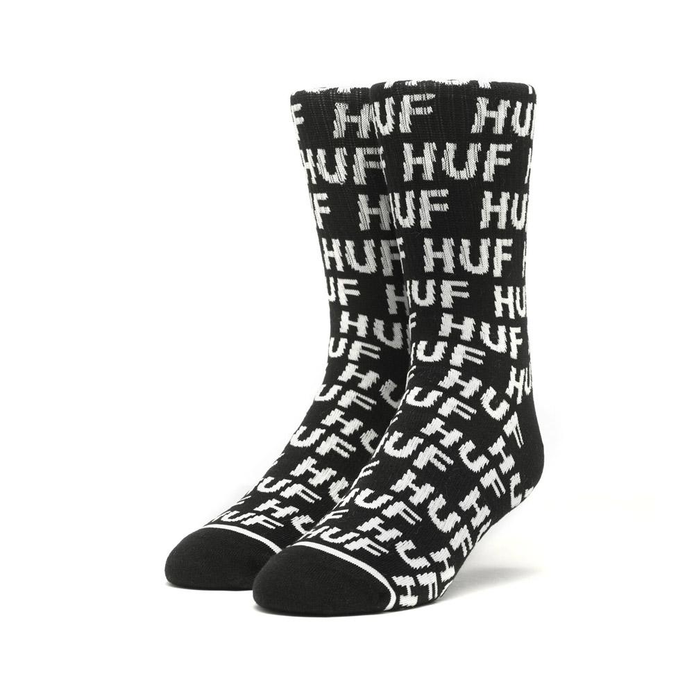 Huf-TRANSIT-SOCKS_BLACK