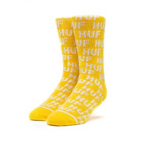 Huf-TRANSIT-SOCKS_MINERAL_YELLOW