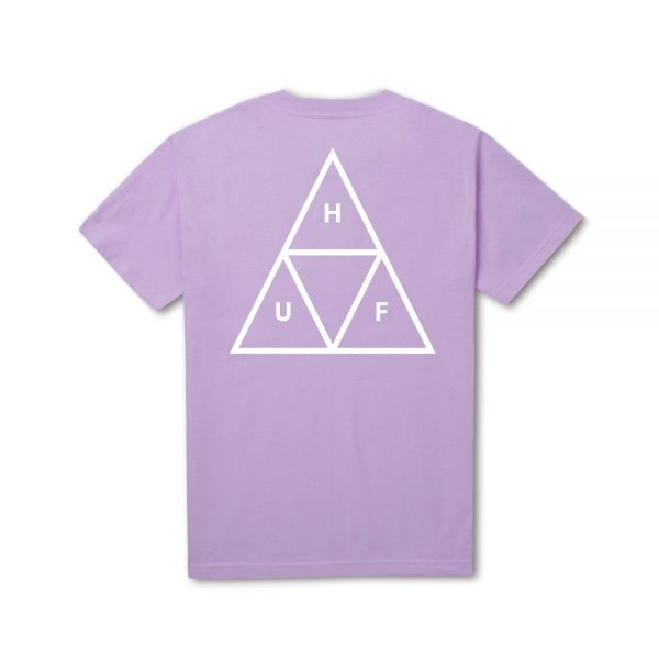 Huf TRIPLE TRIANGLE TEE LAVENDAR
