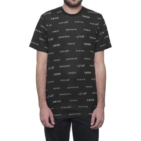 Huf-Translation-Tee-Black