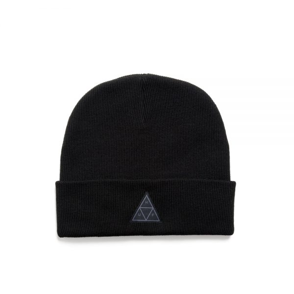 Huf-Triple-Triangle-Beany-Black