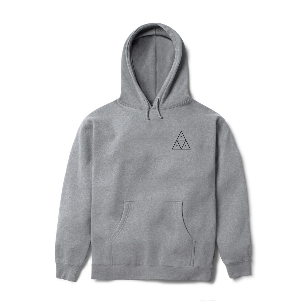 Huf-Triple-Triangle-Hood-Grey