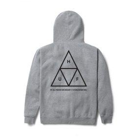 Huf-Triple-Triangle-Hood-Grey