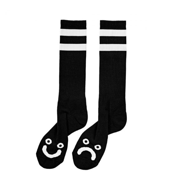 Polar Happy Sad Socks Black