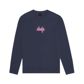Now in stock Huf Landmark Logo Crewneck Crewneck sweater by huf called Huf Landmark Logo.