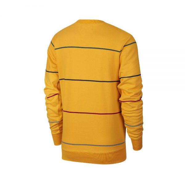 Nike-SB-Evert-Stripe-Sweat-Yellow