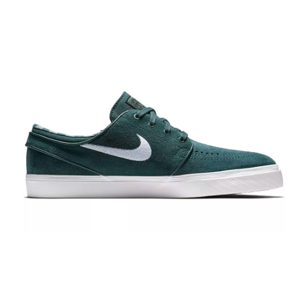 Nike SB Janoski Deep Jungle White Grey Green