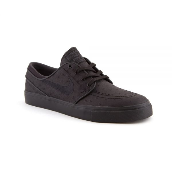 nike sb janoski pr leather black