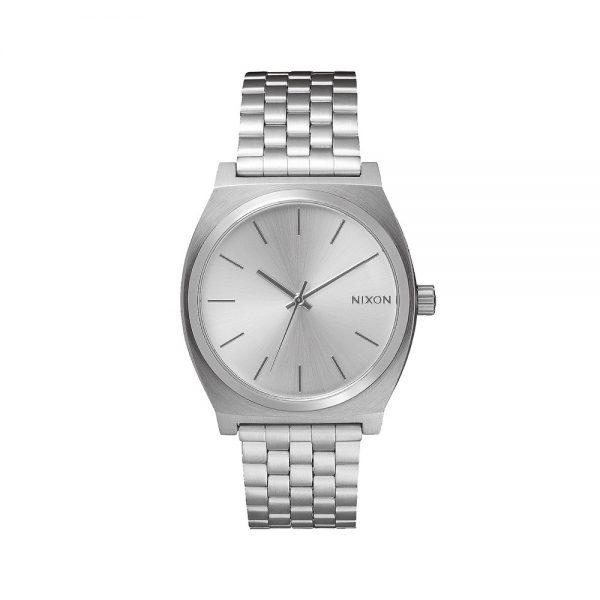 Nixon-Time-Teller-All-Silver
