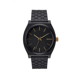Nixon-Time-Teller-BlackGold