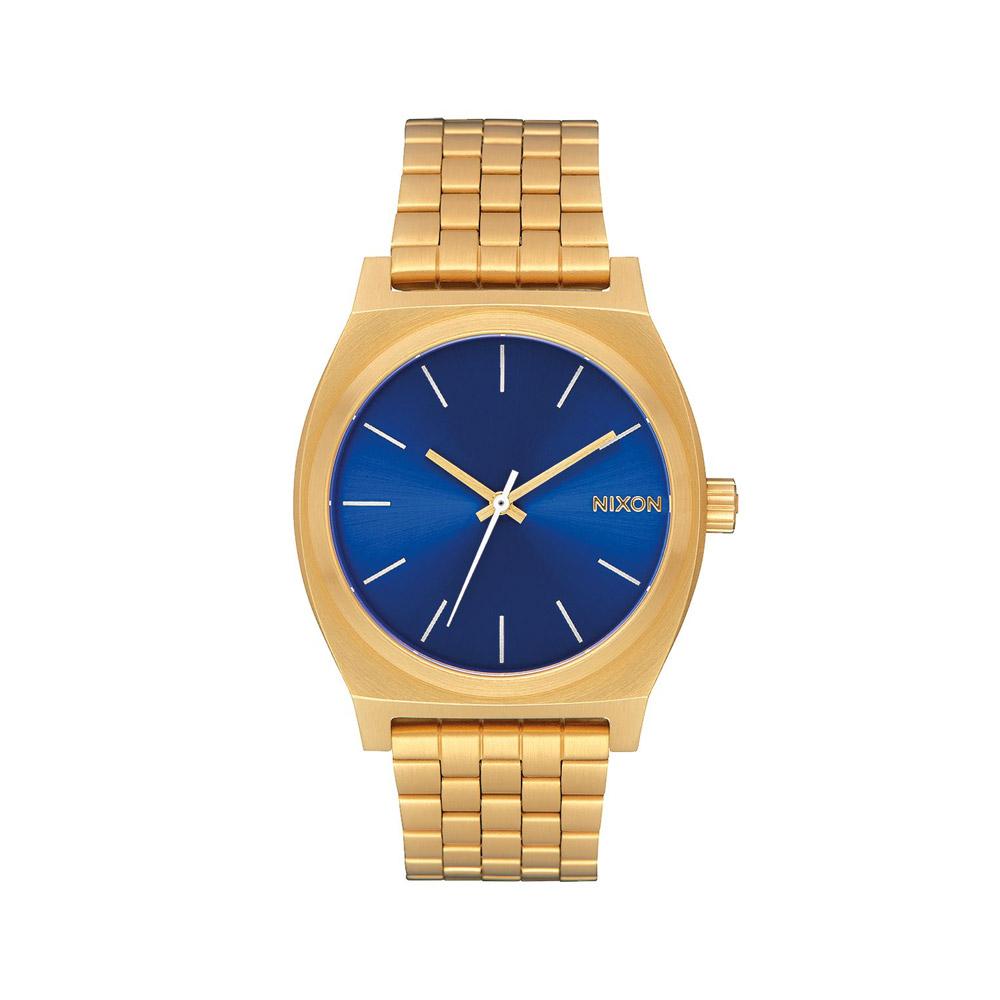Nixon-Time-Teller-Gold--Blue-Sunray