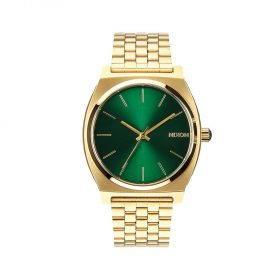 Nixon-Time-Teller-Gold--Green-Sunray-