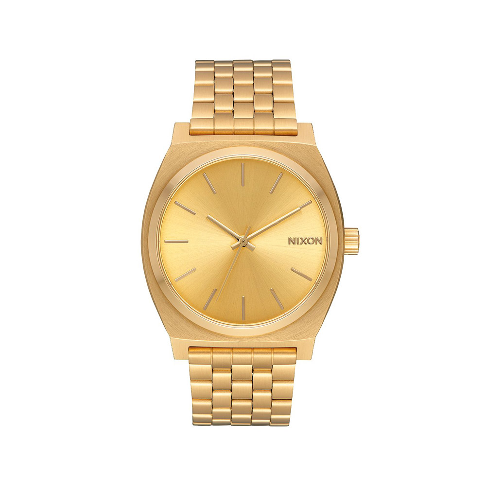 Nixon-Time-Teller-GoldGold