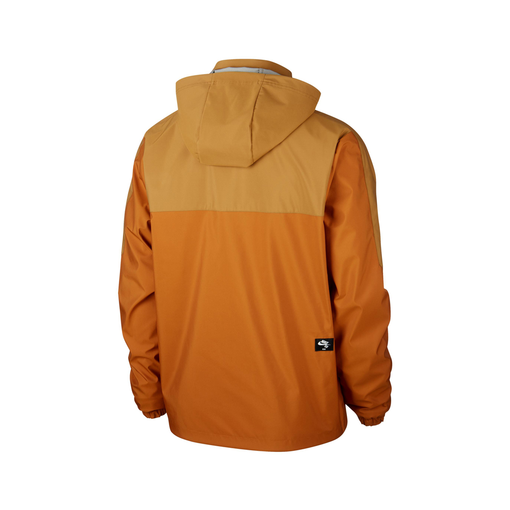 Nike SB x OSKi Reversible Jacket ISO Orange Label Productcode: BV8284-255 Item Reversible jacket Orange Label ISO Side pockets Left Chest pocket Muted Bronze, Burnt Sienna, Black