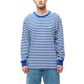 Obey-89-ICON-STRIPE-BOX-TEE-II-LS-Blue-Multi