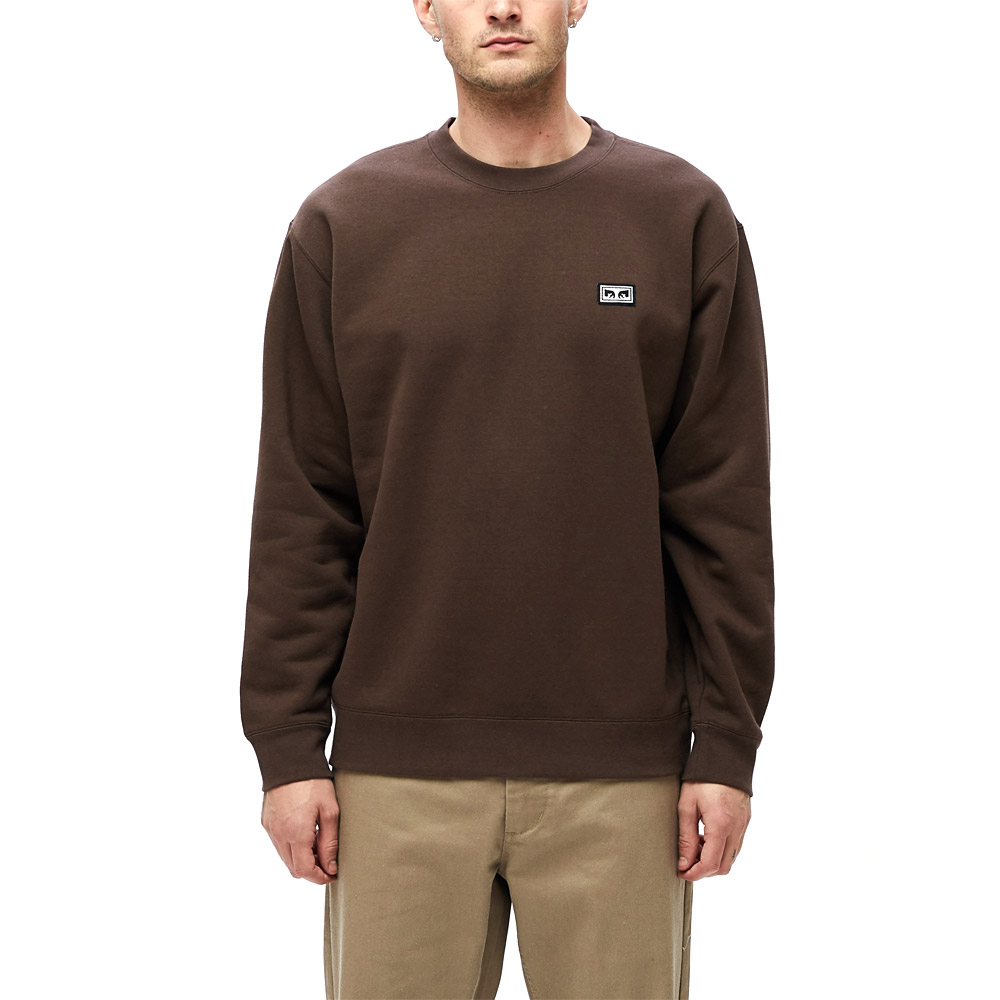 Obey-All-Eyez-II-Crew-Brown
